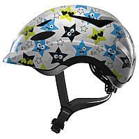 Велосипедный детский шлем ABUS ANUKY M (52-57 см)  White Star 819018
