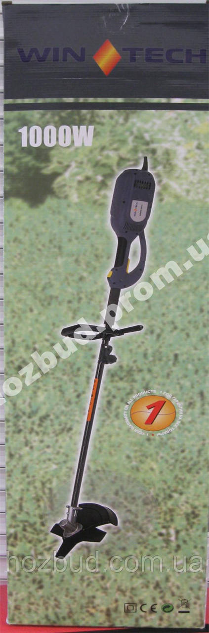 Коса газонная электрическая Wintech WGT-1000