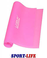 Эспандер-лента LiveUp TPE BAND, сопротивление слабое, 1,2 м, Розовая