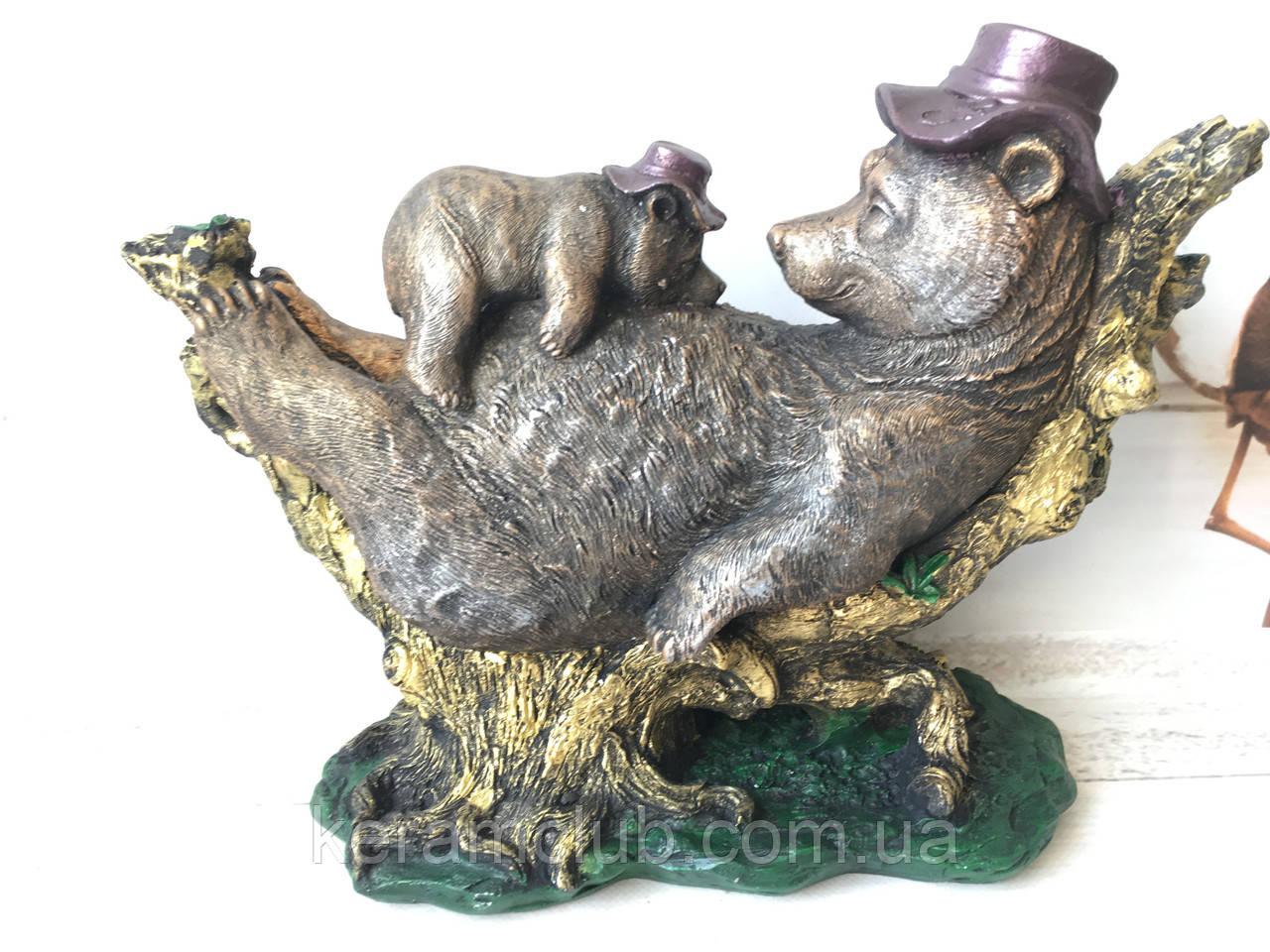 Статуэтка Медведь с медвеженком