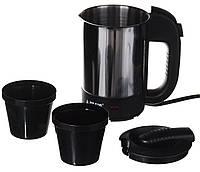 Автомобильный чайник с чашками от прикуривателя 12V (авточайник від прикурювача автомобільний)