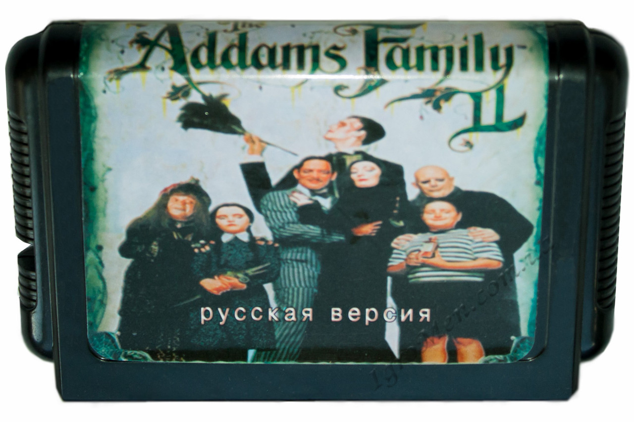 Картридж cега Addams Family