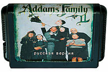 Картридж сега Addams Family