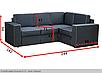 Угловой диван Аскольд B-21 Вика (не раскладной), фото 3