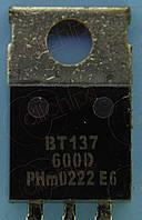 Симистор NXP BT137-600D TO220