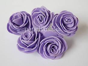 Троянди латексові бузкові 2 см