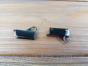 Держатель сумочного ремешка 65-059 цвет Темный никель