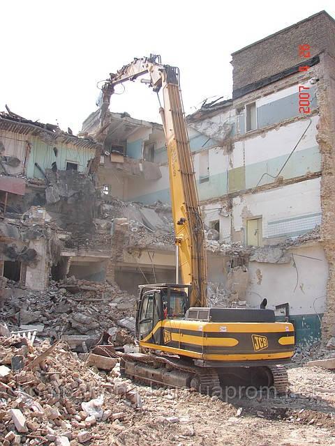 Знесення будівель і споруд Київ