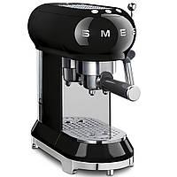 Кофемашина-эспрессо Smeg ECF01BLEU черная, фото 1