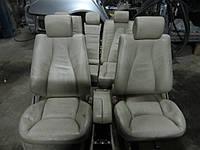 Кожаный салон (бежевый) MERCEDES-BENZ W220 s-class