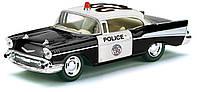 Автомодель металлическая 1:40 Chevrolet Bel Air (police) KT5323W Kinsmart