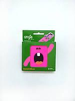 Альбом для молочних зубчиків Angie - 1 шт/уп., рожевий