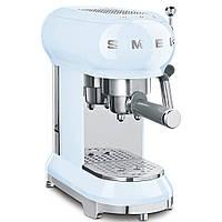 Кофемашина-эспрессо Smeg ECF01PBEU голубая, фото 1