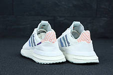 Мужские кроссовки Adidas ZX 500 RM x Commonwealth White, фото 2