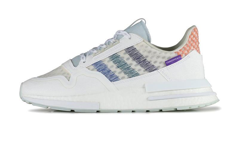 Мужские кроссовки Adidas ZX 500 RM x Commonwealth White