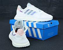 Мужские кроссовки Adidas ZX 500 RM x Commonwealth White, фото 3