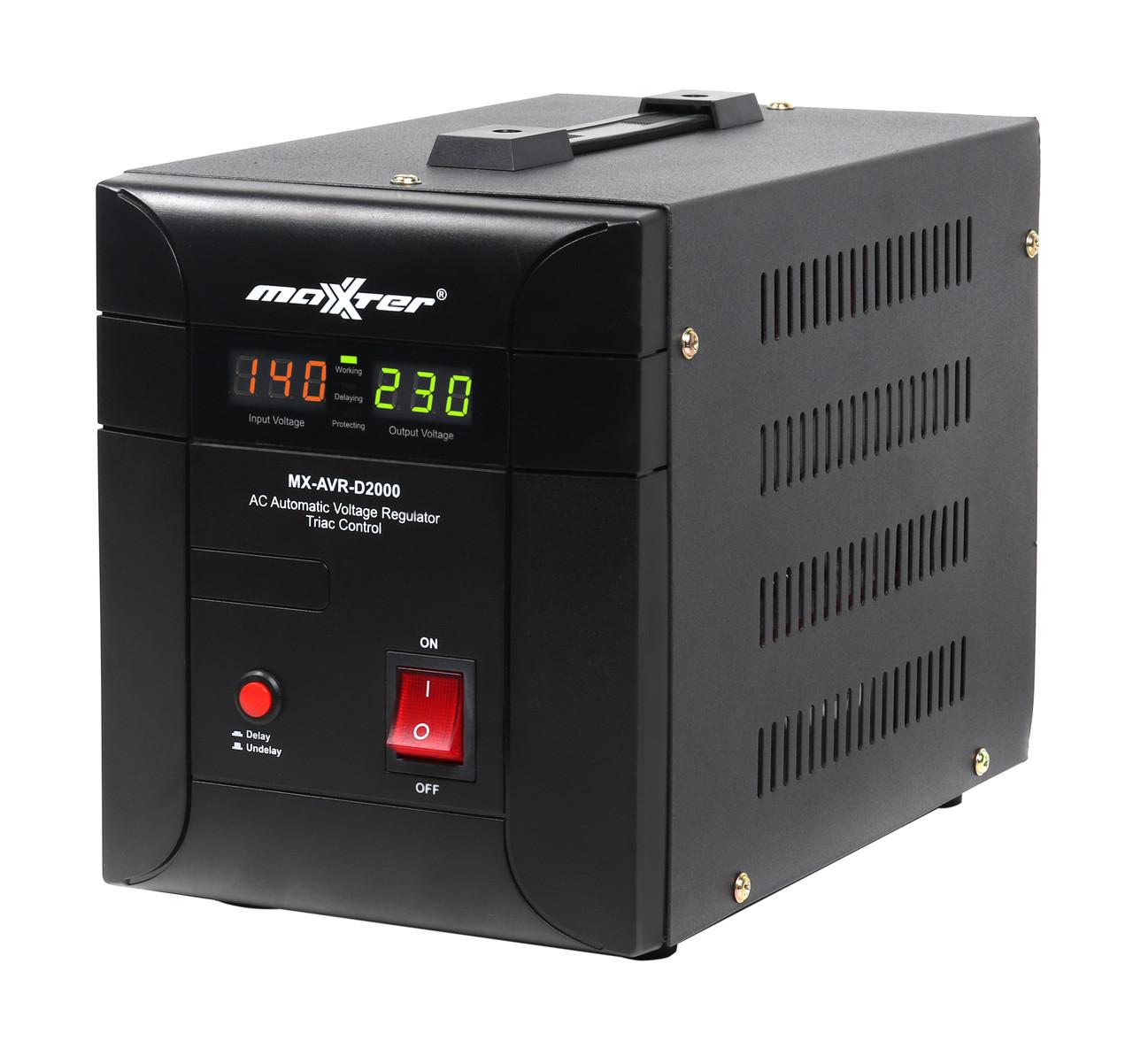 Симисторный стабилизатор напряжения 230 В, 2000 ВА