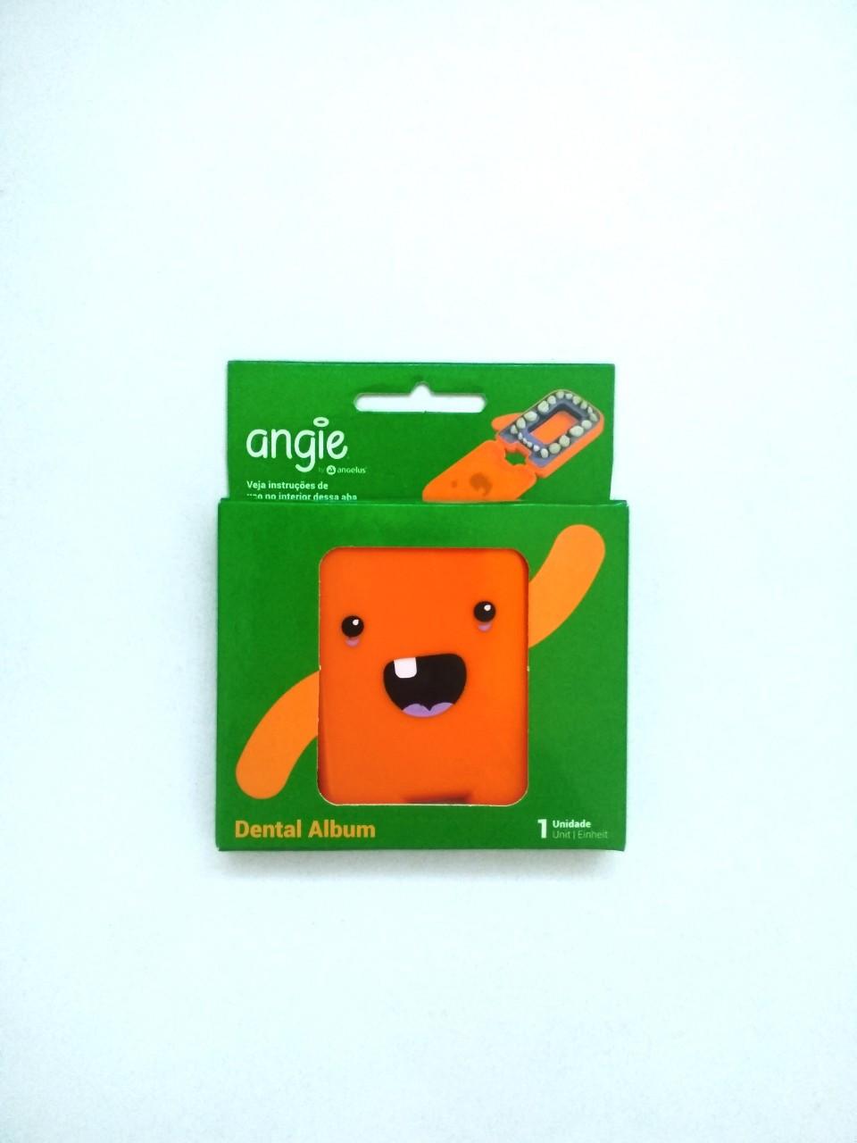 Альбом для молочних зубчиків Angie - 1 шт/уп., помаранчевий