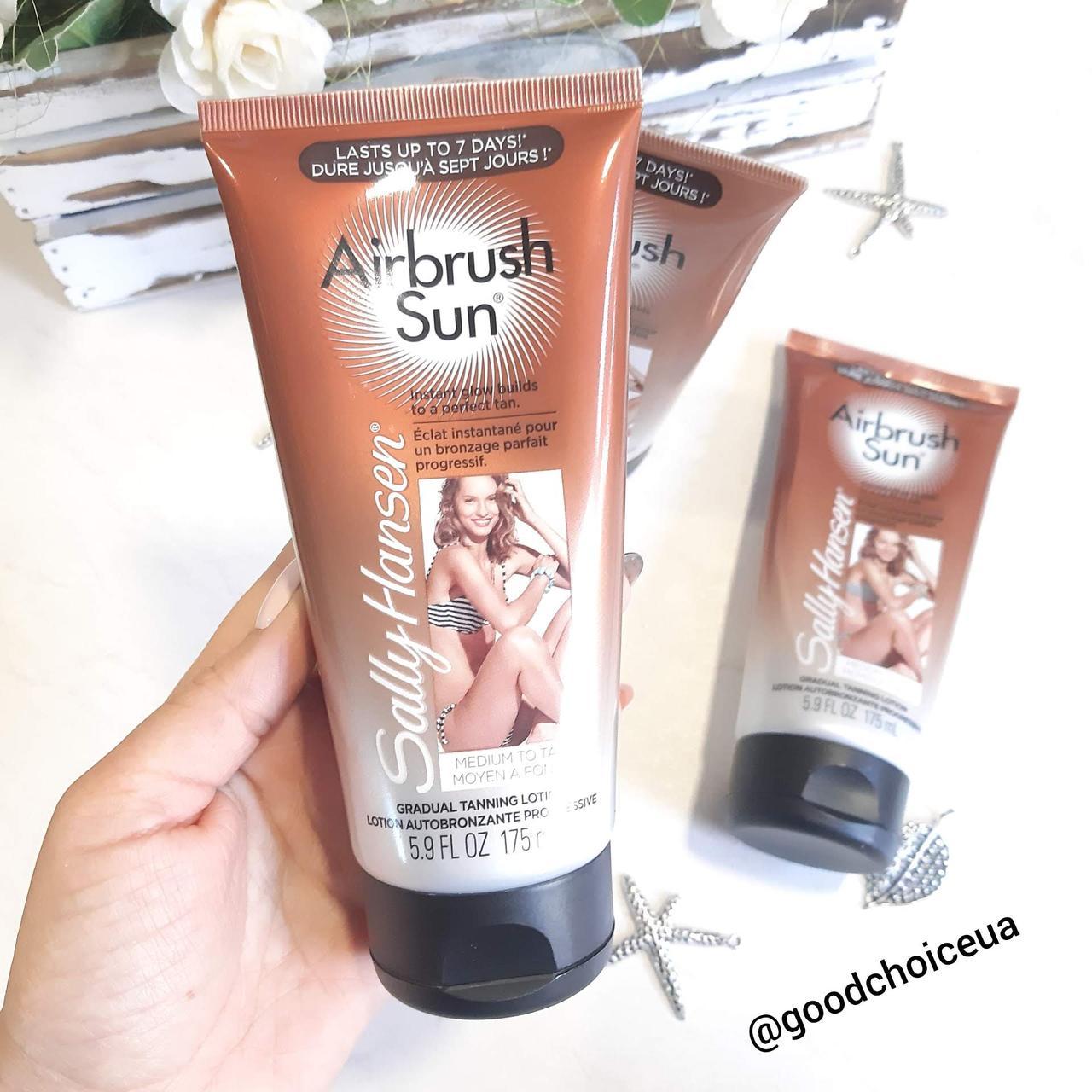 Лосьон-автозагар для тела Sally Hansen Airbrush Sun - Medium to Tan