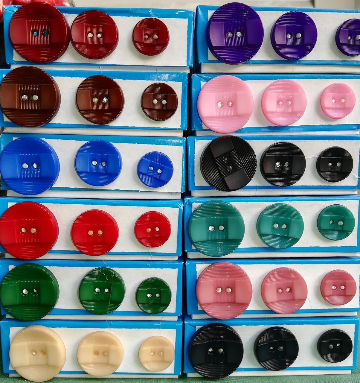 Пуговица PG632 в 3-х размерах (разные цвета)