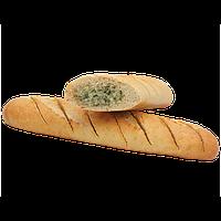 Французский батон с начинкой из чесночного масла