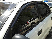 Ветровики, дефлекторы окон  Daewoo Lanos 1997- (Hic)