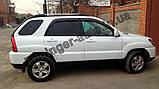 Ветровики, дефлекторы окон Kia Sportage 2004-2010 (Autoclover), фото 2