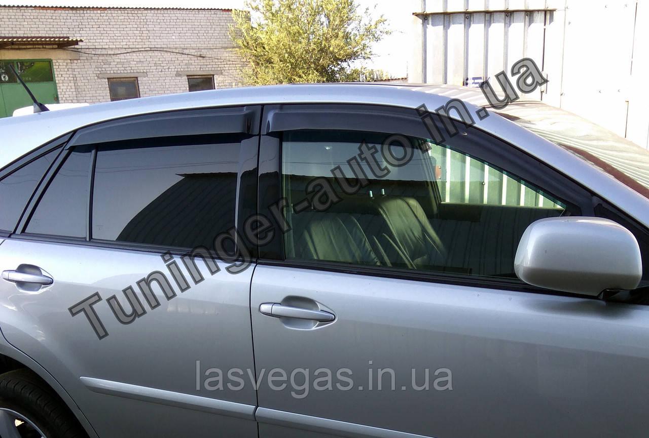 Вітровики, дефлектори вікон Lexus RX 350 2003-2009 (Hic)
