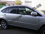 Вітровики, дефлектори вікон Lexus RX 350 2003-2009 (Hic), фото 2