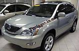 Вітровики, дефлектори вікон Lexus RX 350 2003-2009 (Hic), фото 3