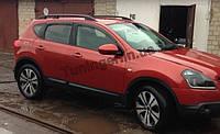 Ветровики, дефлекторы окон Nissan Qashqai 2007-2014 (Hic)