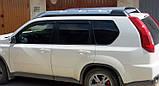Вітровики, дефлектори вікон Nissan X-TRAIL 2007-2014 (Hic), фото 3