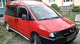 Дефлекторы окон (ветровки) Fiat Scudo (Peugeot Expert) 2D  1996-2006, фото 3
