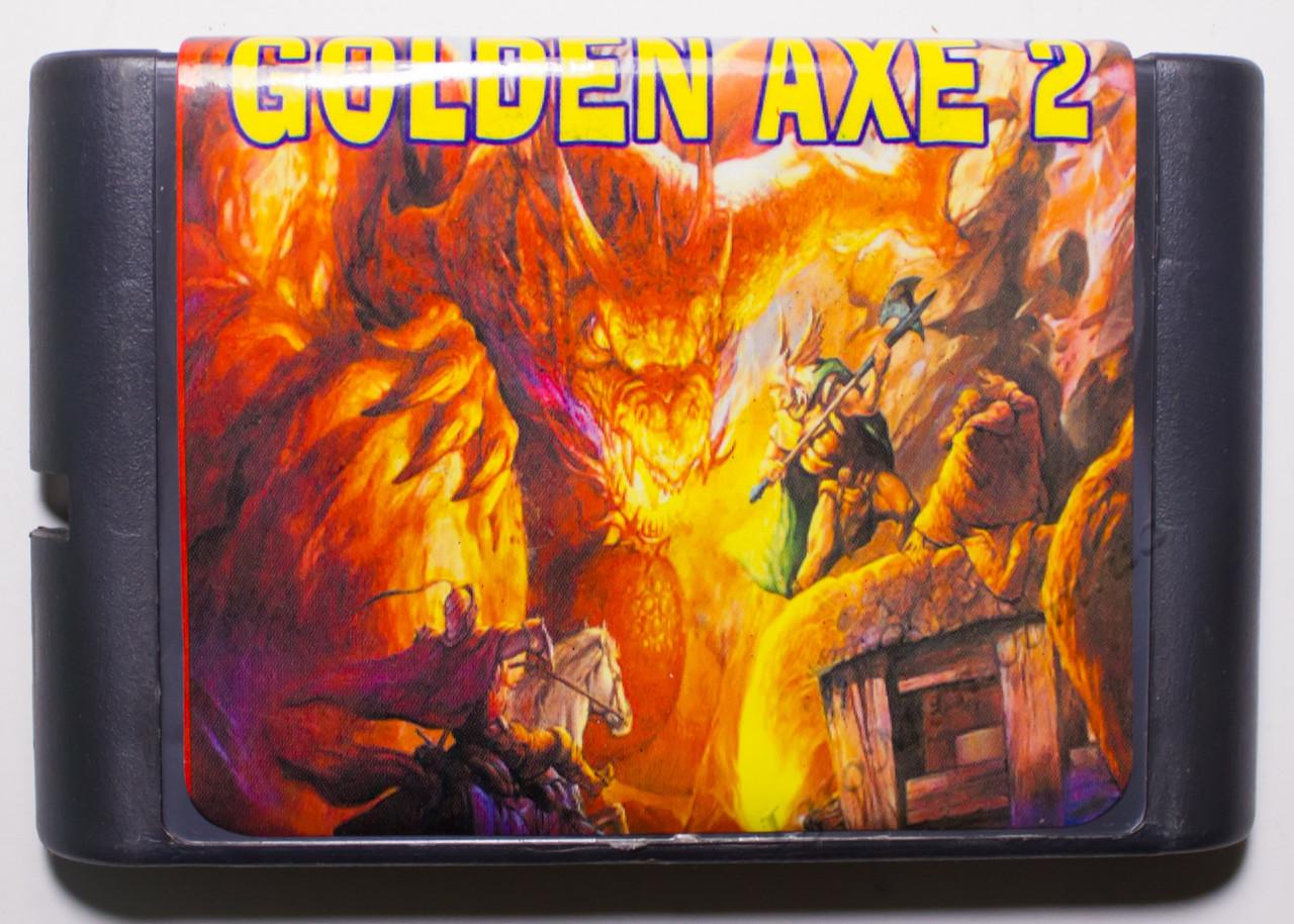 Картридж сега Golden Axe 2