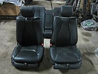 Кожаный салон (черный) MERCEDES-BENZ W220 s-class