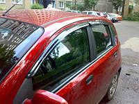 Ветровики, дефлекторы окон Chevrolet Aveo HB 2002-