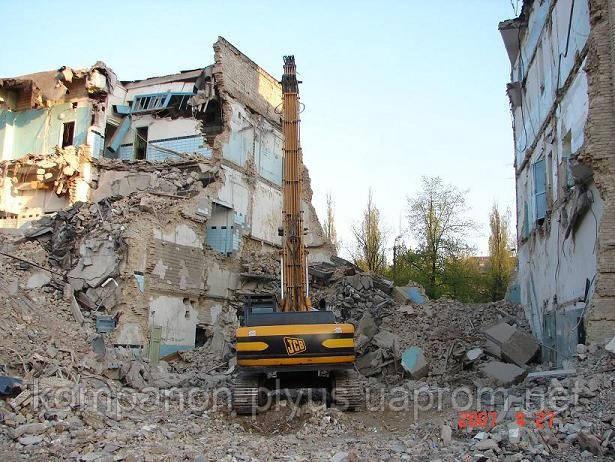 Демонтаж будинку Демонтаж будівель київ недорого