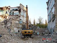 Демонтаж дома киев недорого Демонтаж зданий