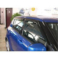 Ветровики,дефлекторы окон Suzuki Swift 2011- г.в. (Hic)