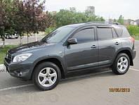 Ветровики,дефлекторы окон Toyota RAV 4 shot/long 2006-2012 (Hic)