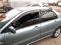 Ветровики, дефлекторы окон Mitsubishi Lancer IX 2003-2009 (Hic), фото 1