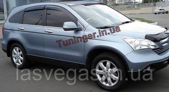 Ветровики,дефлекторы око Honda C-RV 2007-2012