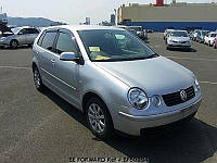 Ветровики, дефлекторы окон Volkswagen Polo 2001-2009 (Hic), фото 1