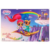 Подложка настольная Kite Shimmer&Shine SH19-207