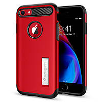 Чехол Spigen для iPhone 8 / 7 Slim Armor, Crimson Red (042CS21519), фото 1