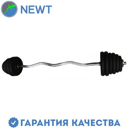 Наборная штанга Newt Home 43 кг W - образный гриф, фото 2