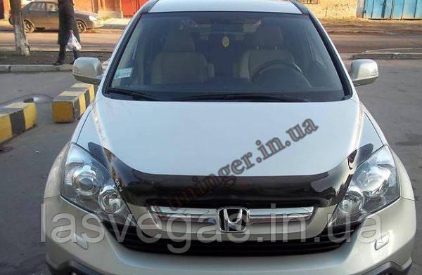 Дефлектор капота (мухобойка) Honda CR-V 2007-2010 (egr)