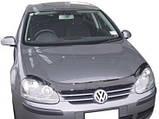 Мухобойка, дефлектор капота Volkswagen Jetta/Golf 5 2006-2010гг. (Sim), фото 2