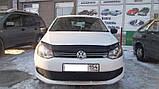 Дефлектор капота (мухобойка) Volkswagen Polo 2010-2017 (EGR), фото 2