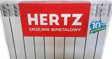 Радіатор Біметалічний Hertz 500х80